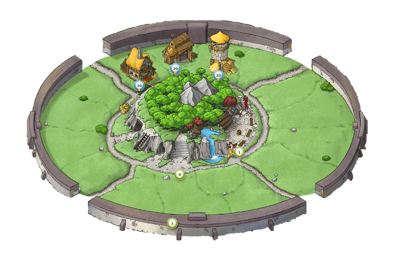 Travian Kingdoms Wiki | Wonder of the World - village